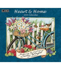 Lang Heart and Home Kalender 2019