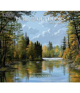 Lang Lure of the Outdoors Kalender 2019