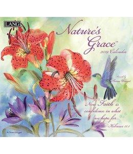 Lang Nature's Grace Kalender 2019