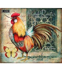 Lang Proud Rooster Kalender 2019