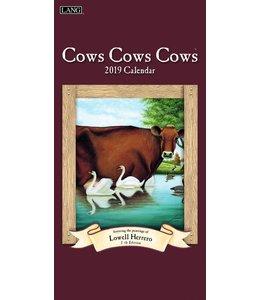 Lang Cows Cows Cows Kalender 2019