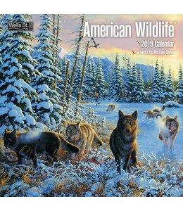 Wells st. by Lang American Wildlife Kalender 2019