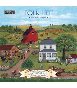 Wells st. by Lang Folk Life Kalender 2019