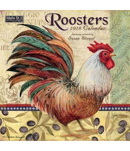 Wells st. by Lang Roosters Kalender 2019