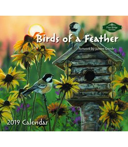 Pine Ridge Birds of a Feather Kalender 2019
