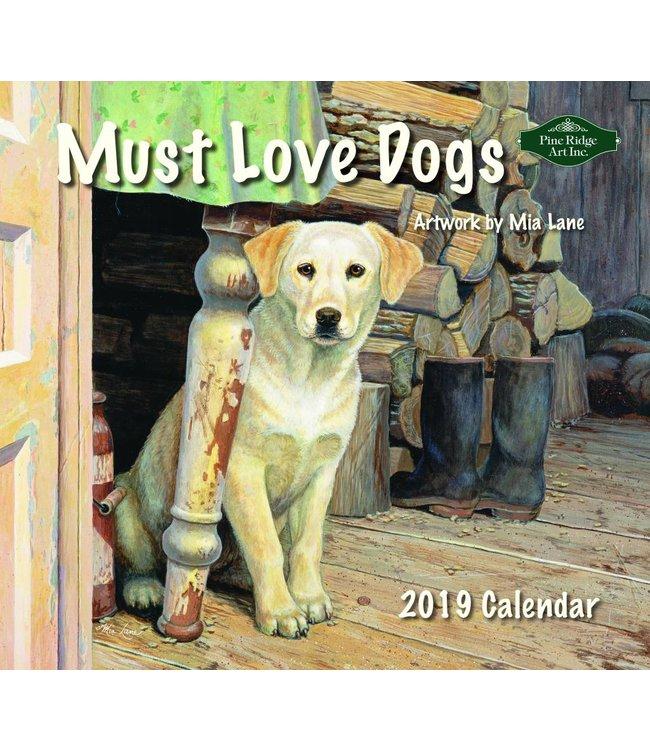 Pine Ridge Must Love Dogs Kalender 2019