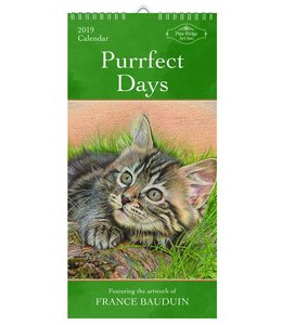 Pine Ridge Purrfect Days Kalender 2019