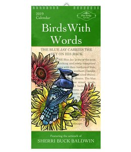 Pine Ridge Birds with Words Kalender 2019