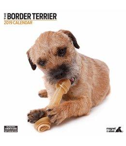 Magnet & Steel Border Terrier Kalender 2019 Modern