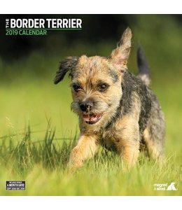 Magnet & Steel Border Terrier Kalender 2019