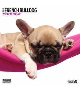 Magnet & Steel Franse Bulldog Kalender 2019 Modern