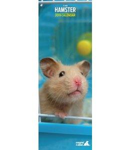 Magnet & Steel Hamster Kalender 2019 Slimline