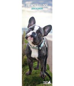 Magnet & Steel Franse Bulldog Kalender 2019 Slimline