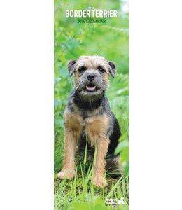 Magnet & Steel Border Terrier Kalender 2019 Slimline