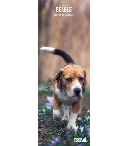 Magnet & Steel Beagle Kalender 2019 Slimline