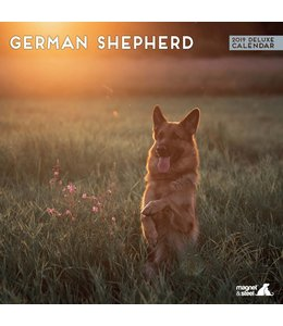 Magnet & Steel Duitse Herder Kalender 2019 Deluxe