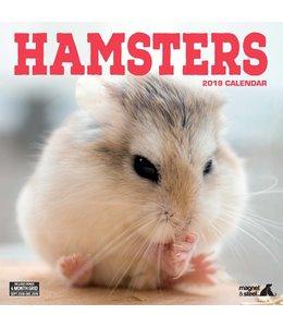 Magnet & Steel Hamster Kalender 2019