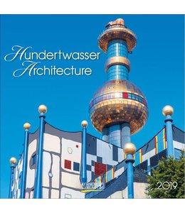 Korsch Verlag Hundertwasser Architecture Kalender 2019
