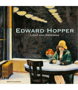 Catch Publising Edward Hopper - Light and darkness Kalender 2019