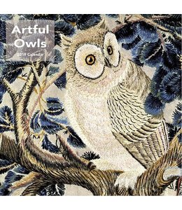 Catch Publising Artful Owls Kalender 2019