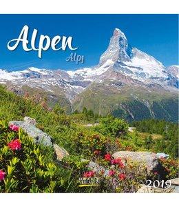 Korsch Verlag Alpen Kalender 2019