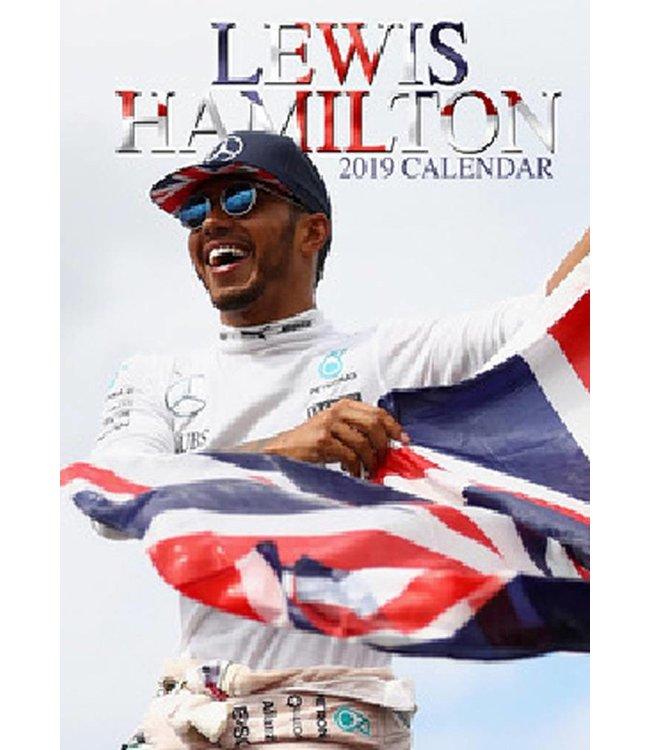OC Calendars Lewis Hamilton Kalender 2019 A3