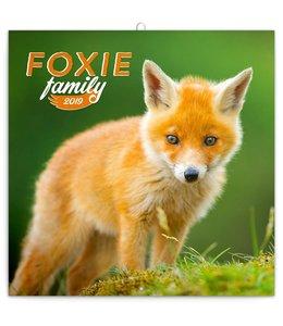 Presco Foxie Family / Vossen Kalender 2019
