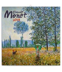 Presco Claude Monet Kalender 2019