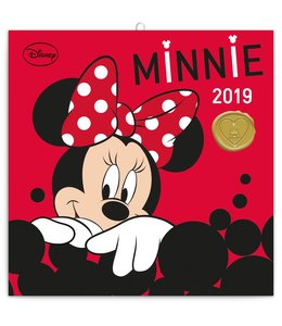 Presco Minnie Mouse Kalender 2019