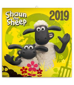 Presco Shaun the Sheep Kalender 2019