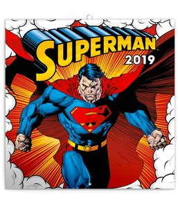 Presco Superman Kalender 2019