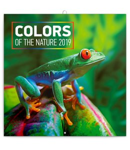 Presco Colors of the Nature Kalender 2019