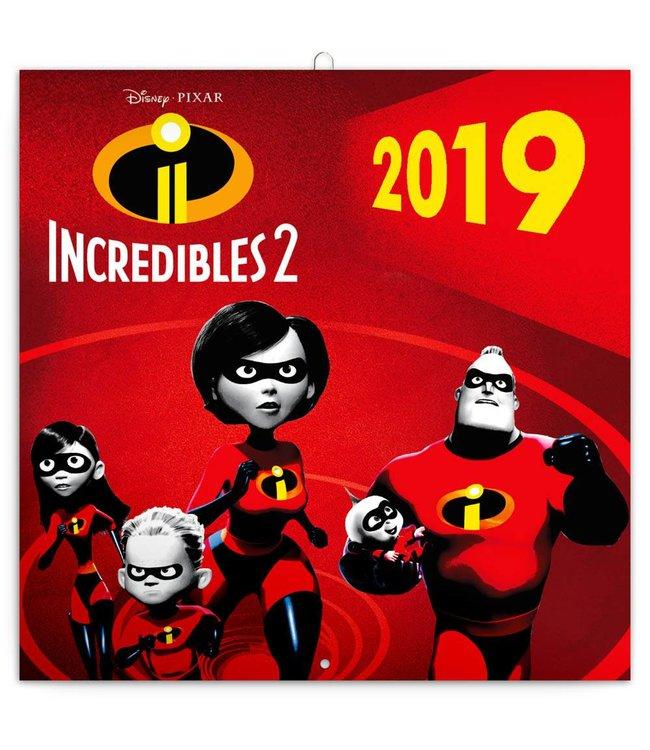 Presco Incredibles 2 Kalender 2019