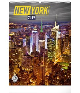 Presco New York Kalender 2019 Groot