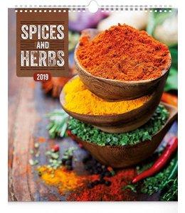 Presco Spices and Herbs Kalender 2019