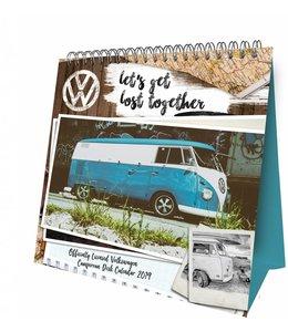 Danilo Volkswagen Campers Kalender 2019 Easel Desktop