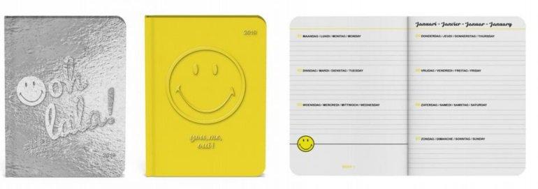Smiley Happy Desk Agenda 2019