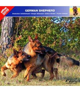 Affixe Editions Duitse Herder Kalender 2019