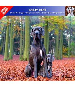 Affixe Editions Duitse Dog Kalender 2019