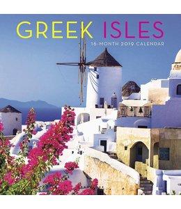 Graphique de France Greek Isles Kalender 2019