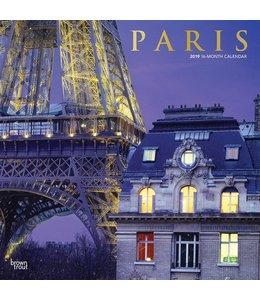 Browntrout Paris Kalender 2019