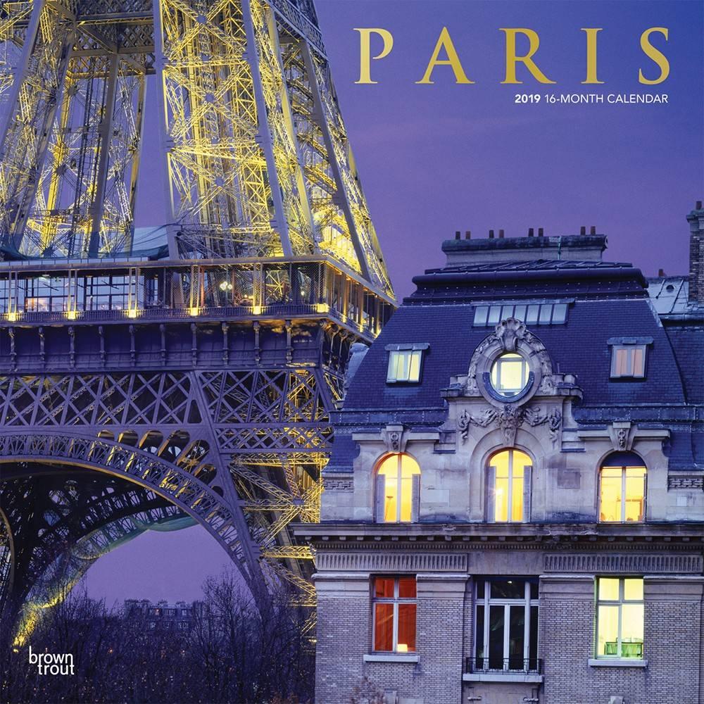 Paris Kalender 2019 Browntrout