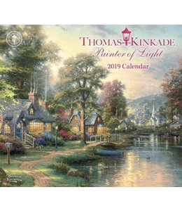 Andrews McMeel Thomas Kinkade Painter of Light 2019