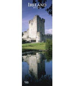 Browntrout Ierland / Ireland Kalender Slimline 2019