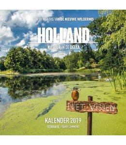 Plenty Gifts Holland Natuur in Delta Kalender 2019