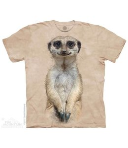 The Mountain Meerkat Portrait T-shirt Kids