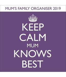 Pyramid Keep Calm Familie Planner 2019