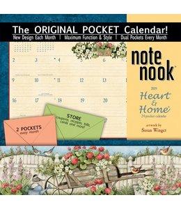 Lang Heart and Home Pocket Kalender 2019