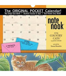 Lang Country Cats Pocket Kalender 2019