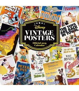Danilo Disney Vintage Posters Kalender 2019